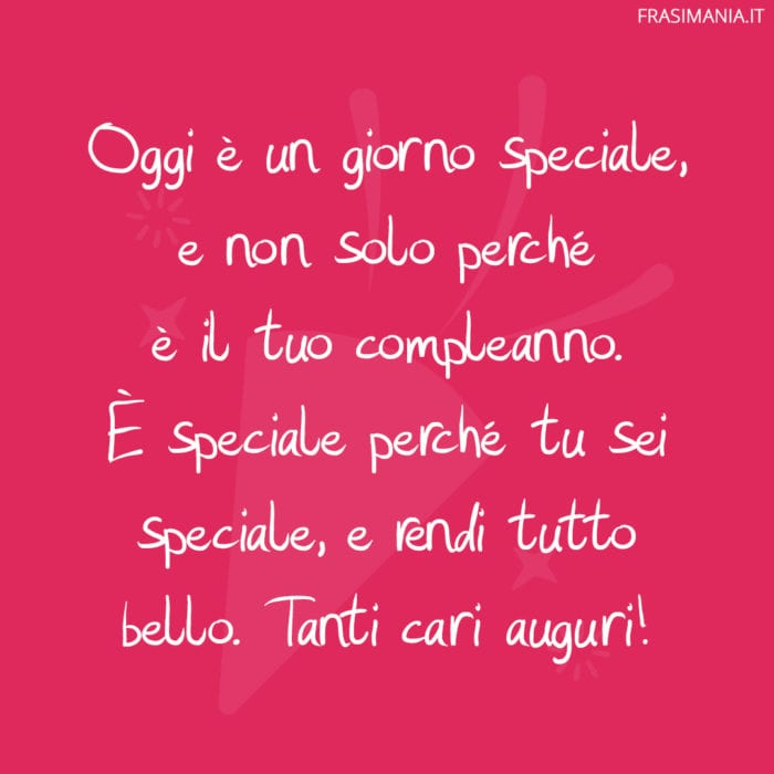 Frasi compleanno amica speciale